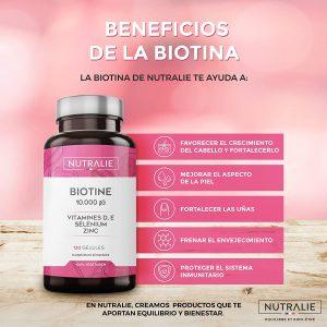 biotina con aceite de coco