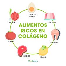 alimentos con colageno