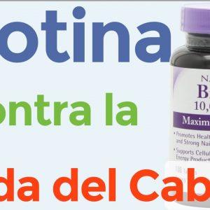 ¿Es buena la biotina para el cabello?