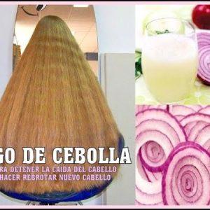 Jugo de cebolla beneficios para el pelo