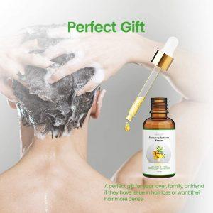 Serum de jengibre vale para la caída del cabello